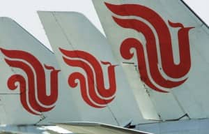 Air China... boasts the youngest fleet in the sky