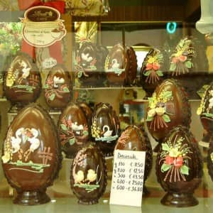 Italy chocolate eggs