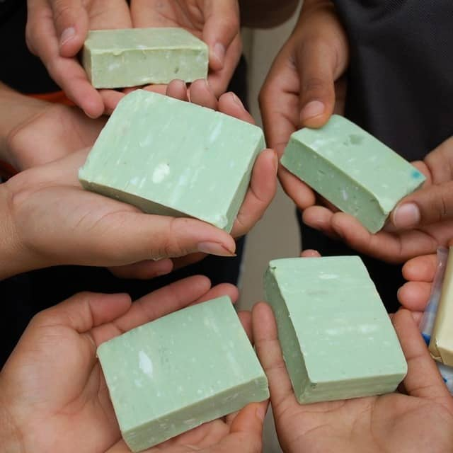 Cleaning the world, one used soap bar at a time