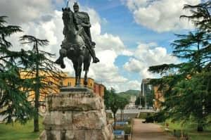 Skenderberg Statue ... Tirana