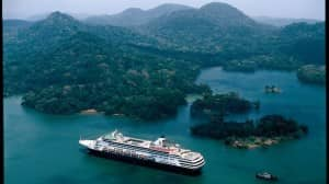 Panama Canal, Holland America Line Grand Voyages